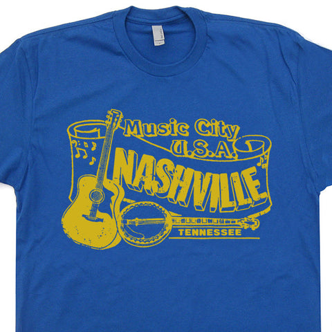 nashville t shirt vintage bluegrass t shirt