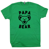 papa bear t shirt words okayest dad shirt