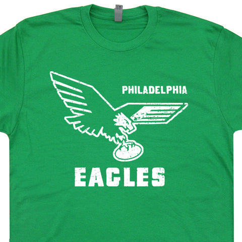 vintage philadelphia eagles t shirt retro eagles logo t shirt