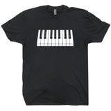 piano keys t shirt keyboard t shirt keytar t shirt
