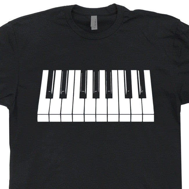 piano keys t shirt keyboard t shirt