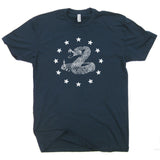 rattlesnake and stars t shirt us marines t shirts