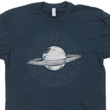 Planet Saturn T Shirt Geek T Shirts
