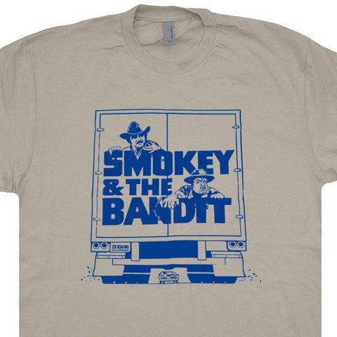 Smokey and The Bandit Shirt Smokey and The Bandit Poster T Shirt Burt Reynolds