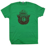 smokey the bear t shirt life is good camping t shirt
