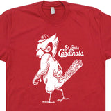 St Louis Cardinals T Shirt Vintage Logo Graphic Tee Shirts