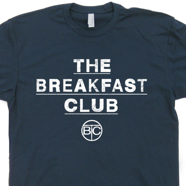 the breakfast club t shirt 80s movie t shirts