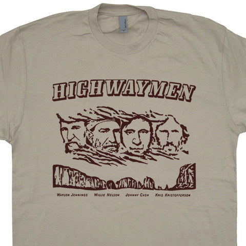 The Highwaymen t shirt willie nelson t shirt johnny cash t shirt