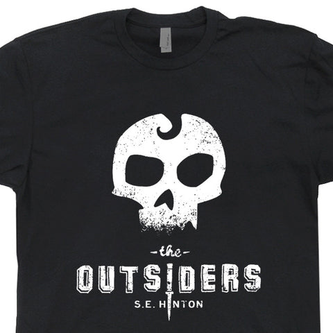 the outsiders t shirt se hinton t shirt