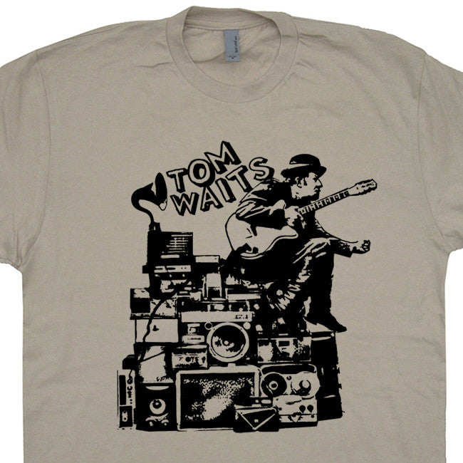 tom waits t shirt vintage rock t shirts