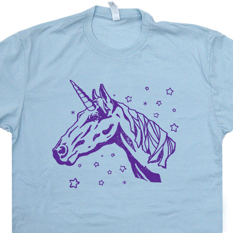 Unicorn T Shirt Vintage Unicorn Shirt Cool Animal Shirts Mythical Creature Tee