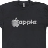 vintage apple logo t shirt steve jobs t shirt