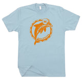 miami dolphins throwback logo shirts