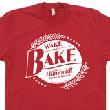 wake and bake t shirt vintage phish t shirt
