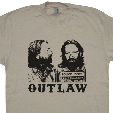 willie nelson t shirt willie nelson mugshot