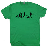 zombie t shirt zombie evolution t shirt