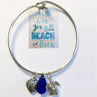 I Love You to the Beach and Back Bracelets