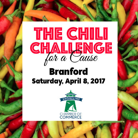 Half price tickets for The 2017 Chili Challenge for a Cause in Branford. Two Tickets.