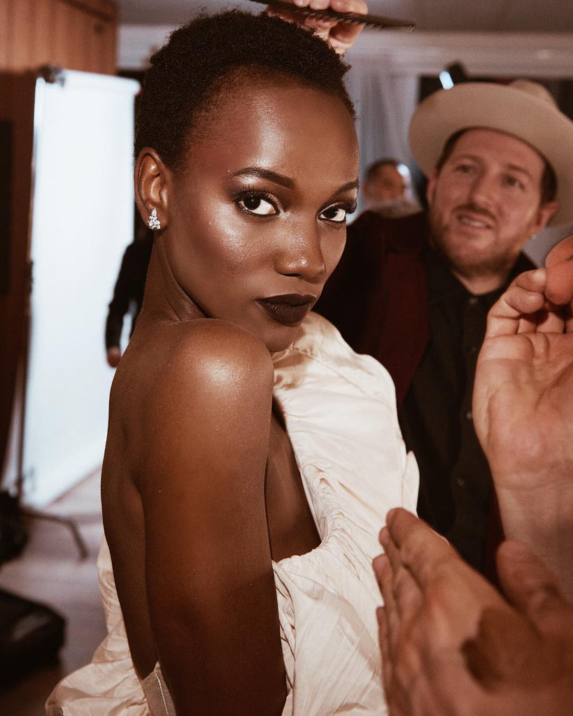 Herieth Paul wearing Colette to Maybelline