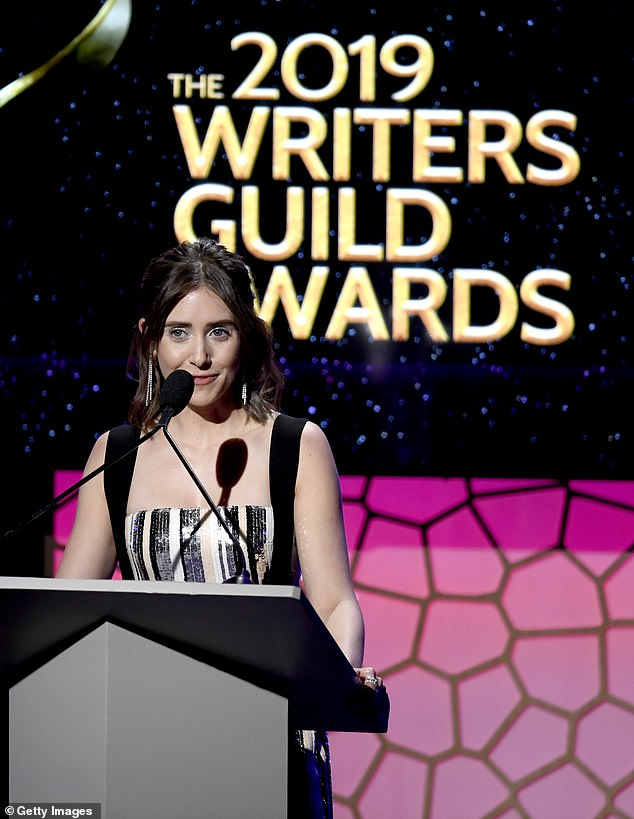 Alison Brie wearing Colette to Writer's Guild Awards 02.17.19