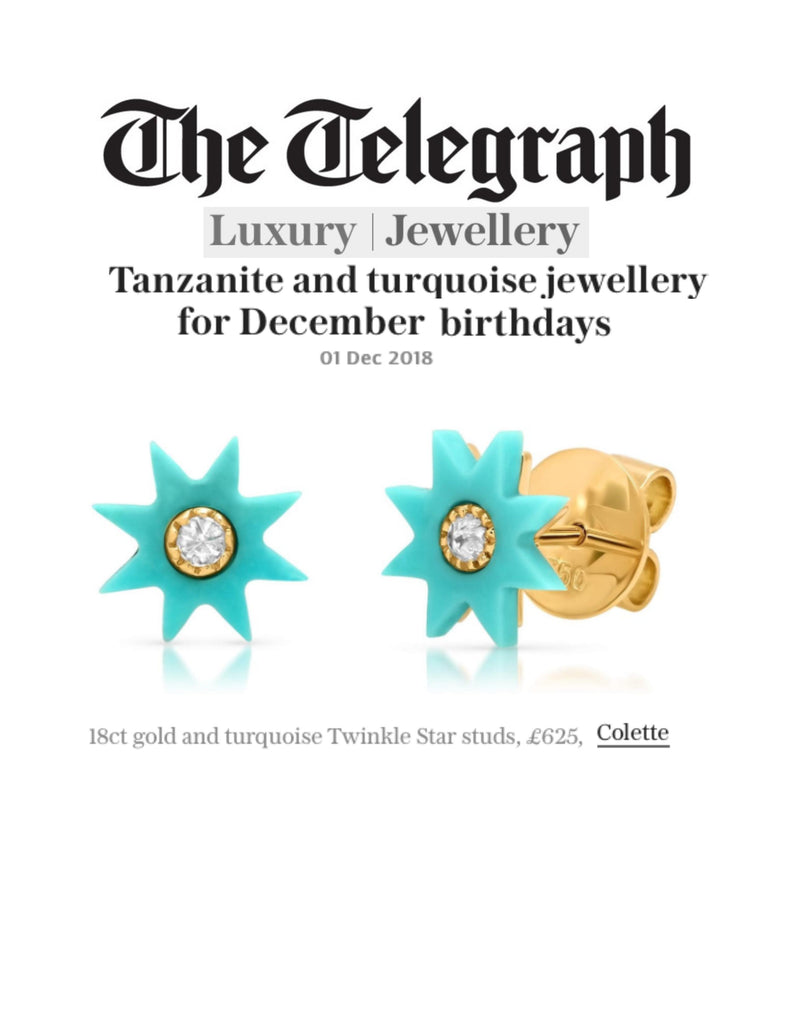 Colette Jewelry featured in - Telegraph UK Luxury - 12.01.18