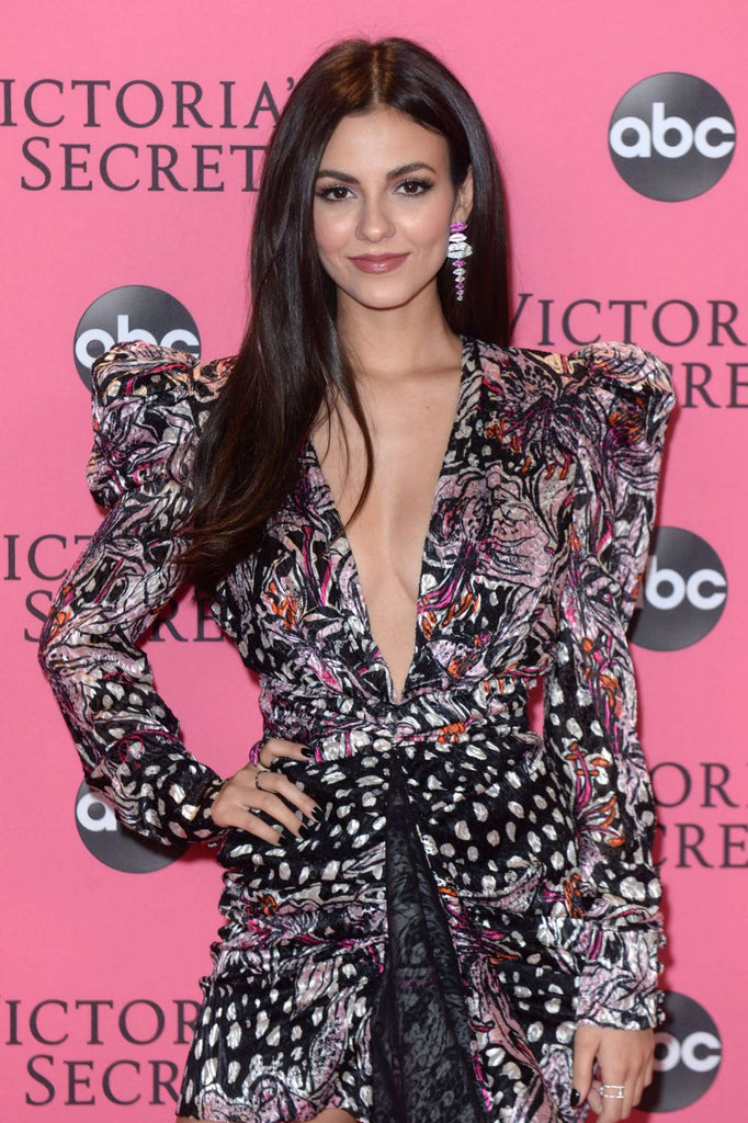 Victoria Justice Wears Colette Jewelry to VS Show After Party 11.8.18