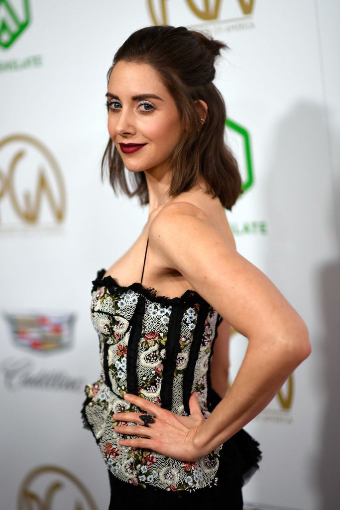 Alison Brie in Colette Jewelry - Producers Guild Awards - 1.19.19