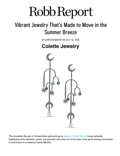 Colette Jewelry featured in RobbReport.com