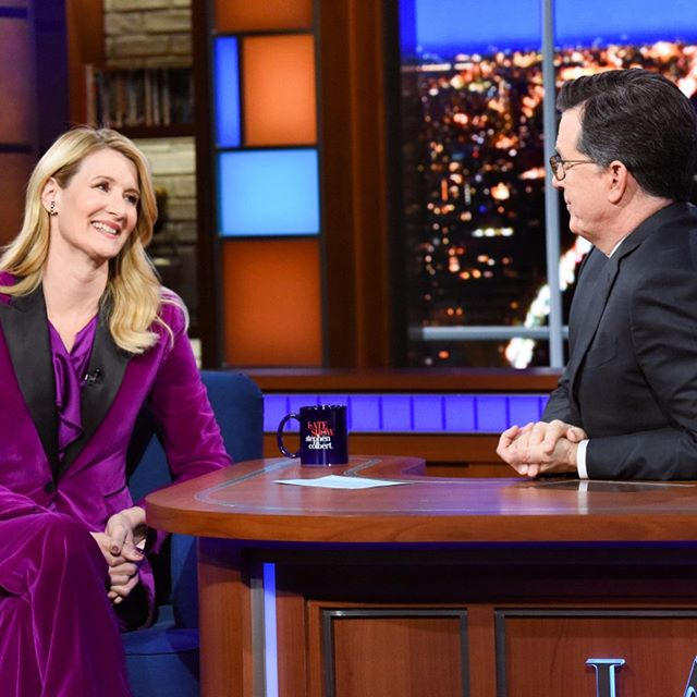Colette - Laura Dern on The Late Show with Stephen Colbert 1.10.20