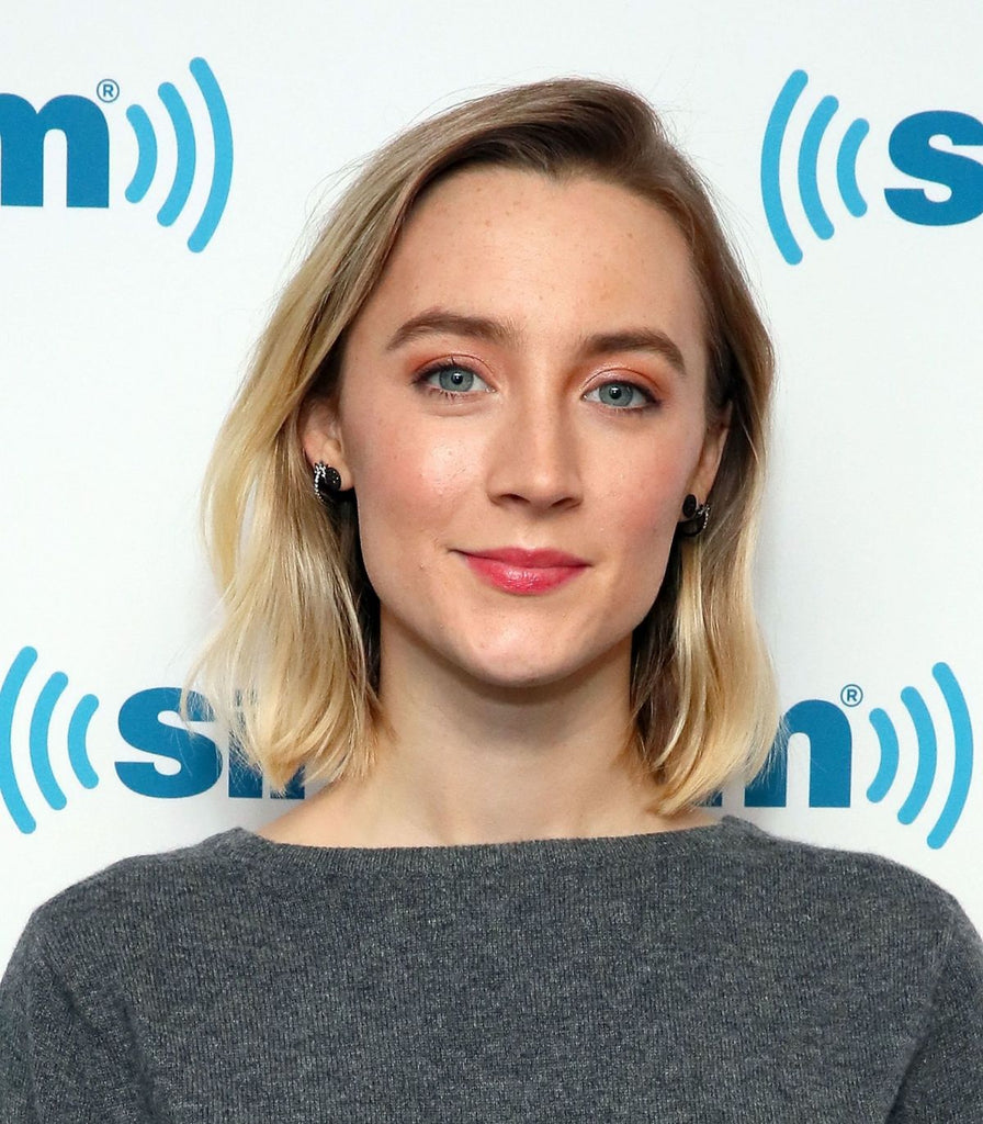Saoirse Ronan wearing Colette Jewelry to SirusXM 12.17.18