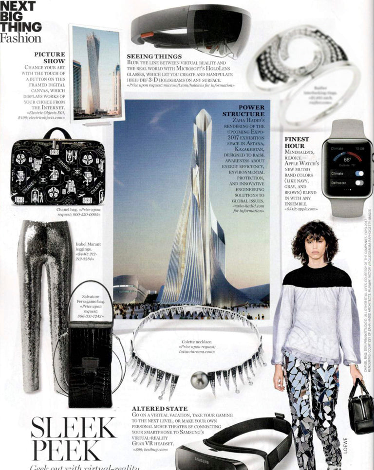 Colette Jewelry in Marie Claire January issue
