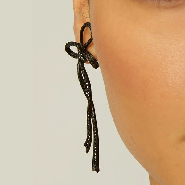 Long Bow Earrings