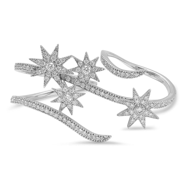 Shooting Stars Double Ring
