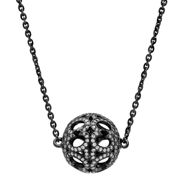 Pave Motif Necklace