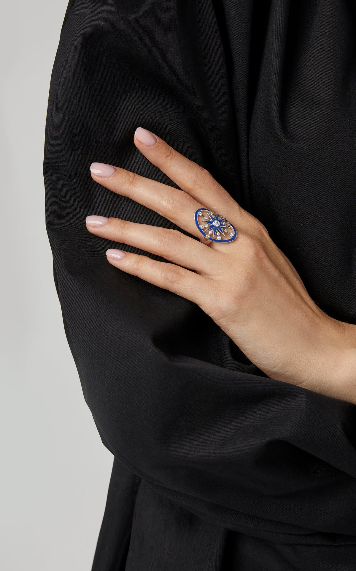 Blue Monoceros Ring