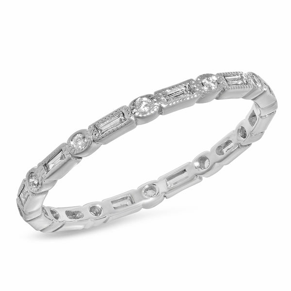 Playful Eternity Ring