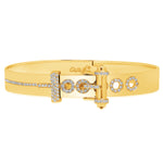 Belt Bracelet - Yellow