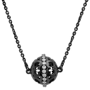 Black Marrakech Ball Necklace