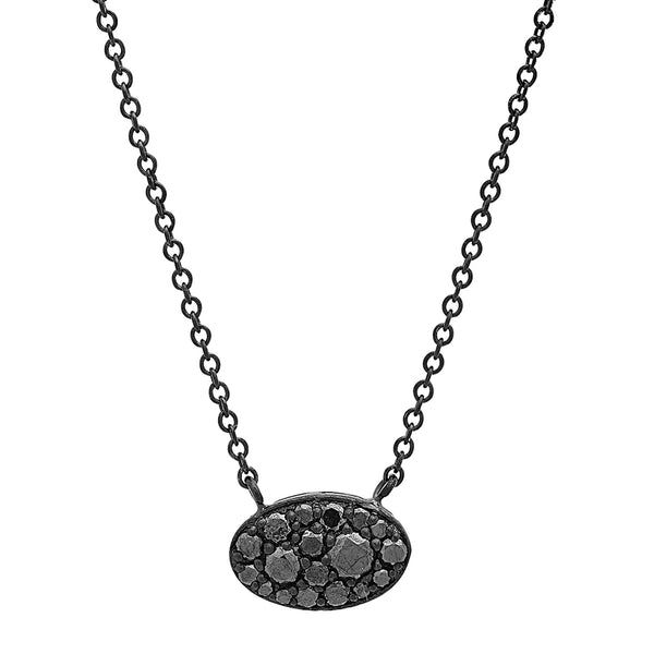 The Petite Diamond Shield Pendant