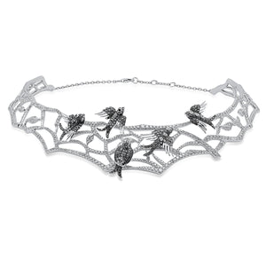 Enchanted Birds Choker