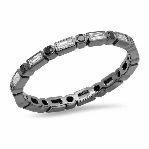 Baguette Bezel Eternity Band