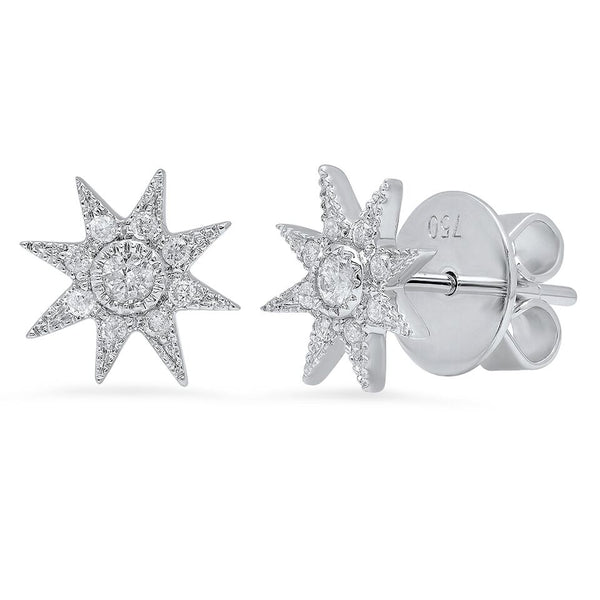 Glow Stars Studs Pavé - Two Colors