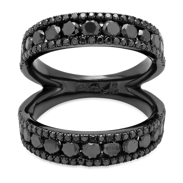 Twined Double Ring