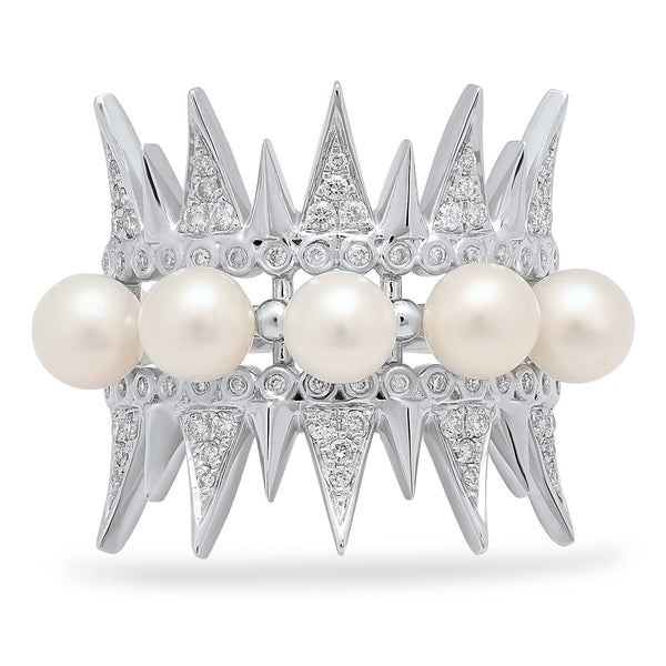 Pearl Spike Ring