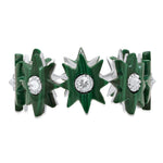 Star Infinity Ring - Malachite