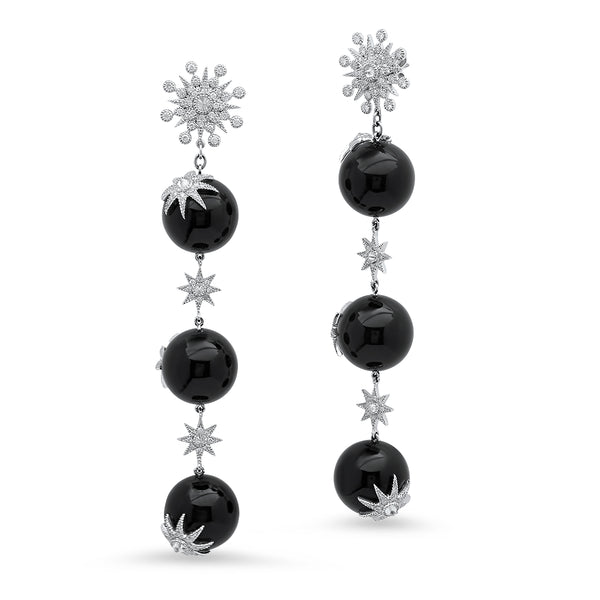 Star Ball Earrings