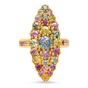Louise Marquise Ring