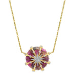 Caged Star Necklace - Three Colors