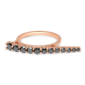 Black Slim Ring