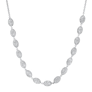 Eugenie Cluster Necklace